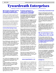 may newsletter col