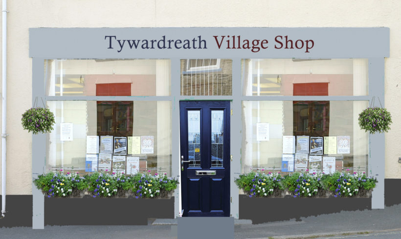 Our vision for the village shop exterior