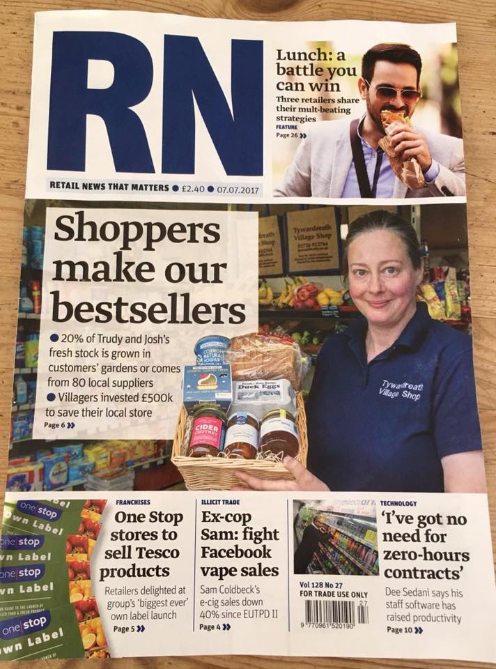 Front page of RN